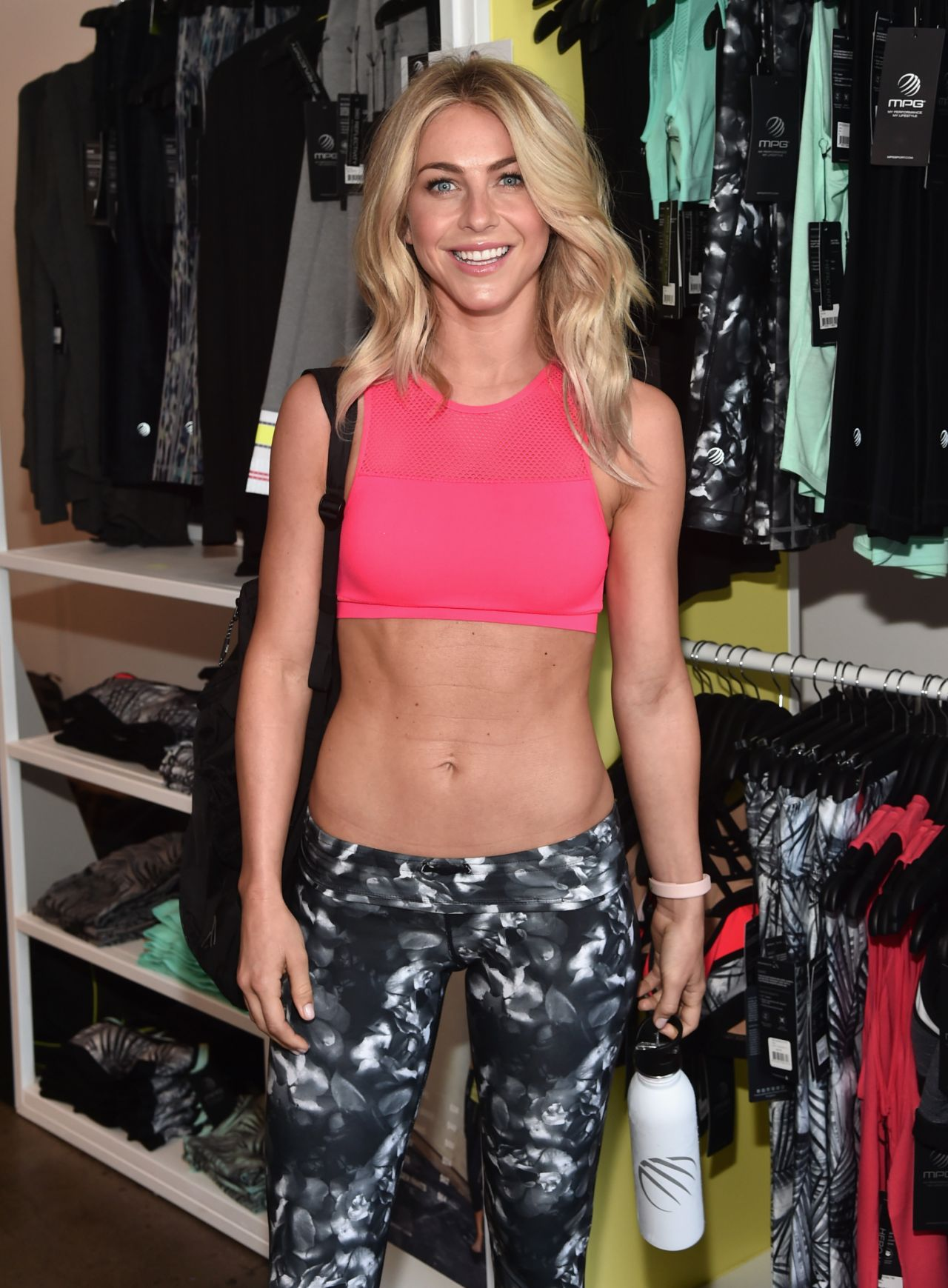 Julianne Hough - Shape Body Shop Launch at Hudson Loft in ...