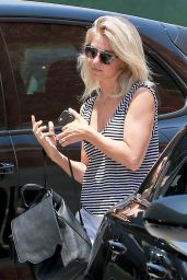 Julianne Hough Street Style - Leaving a Aalon in Los Angeles 6/8/2016