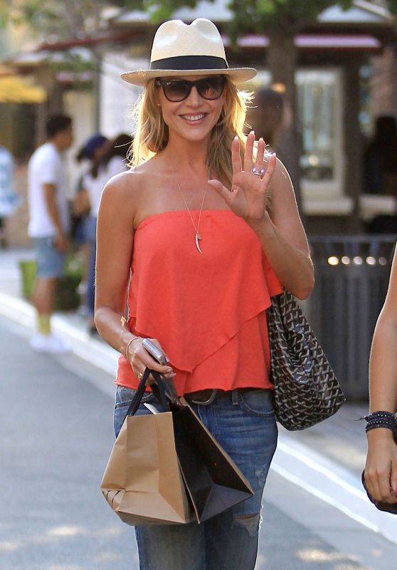 Julie Benz at The Grove in Los Angeles, CA 6/20/2016