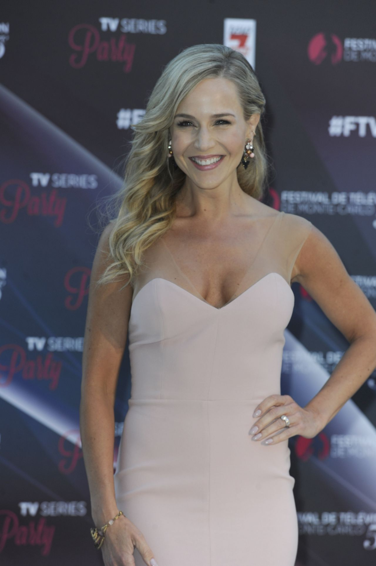 JULIE BENZ at TV Series Party at 56th Monte-Carlo