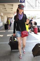 Juliette Lewis at LAX Airport in LA 6/22/2016