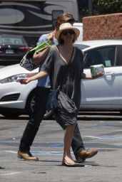 Kaley Cuoco - Shopping in Encino, June 2016