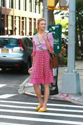 Karlie Kloss Cute Outfit - Out in NYC 6/15/2016