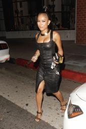 Karrueche Tran at Mr Chows in Beverly Hills 6/27/2016
