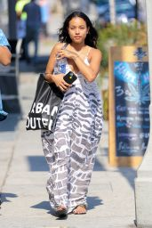 Karrueche Tran - Out in West Hollywood, June 2016