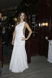 Kate Beckinsale Night Out Style – Lou Lou's in London 5/31/2016