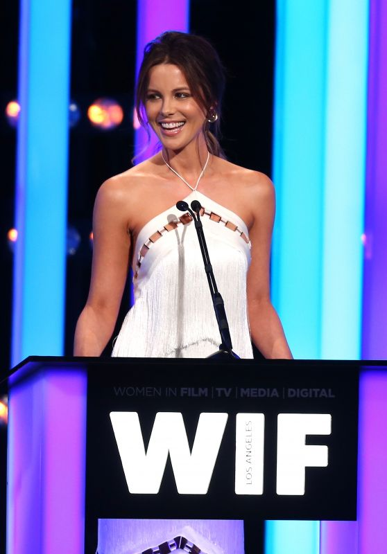 Kate Beckinsale – Women in Film Crystal and Lucy Awards in Beverly Hills 6/15/2016