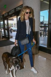 Kate Upton Travel Outfit - LAX AIrport 6/3/2016
