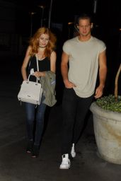 Katherine McNamara - Leaving Arclight Hollywood in Los Angeles  6/28/2016