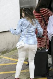 Kelly Brook - Arriving at the ITV Studios in London 6/29/2016