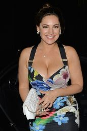 Kelly Brook Night Out in Mayfair in London 6/29/2016