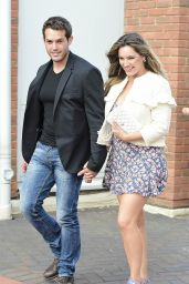 Kelly Brook - Skechers HQ in St Albans Herts UK Opening Day 6/24/2016