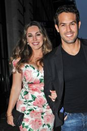 Kelly Brook - Steam and Rye Tropical Party in London 6/2/2016