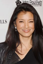 Kelly Hu - Art for Animals Fundraiser Art Event in West Hollywood 6/4/2016