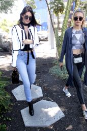 Kendall Jenner and Gigi Hadid Urban Outfit - at Zinque Restaurant in West Hollywood 6/2/2016