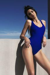 Kendall  Jenner Bikini Photos - Topshop Swimwear 2016