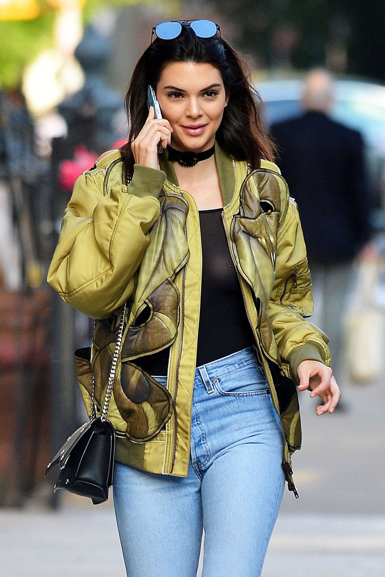 fcef1df0eb610c Kendall Jenner Urban Outfit - New York City 6 21 2016