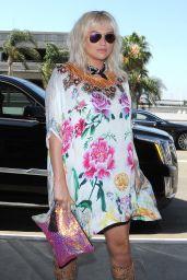 Kesha at LAX Airport in Los Angeles, June 2016