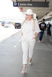 Kesha Style - at LAX Airport 6/3/2016
