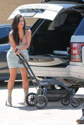 Kim Kardashian Summer Outfit Ideas - Out in Nobu, Malibu 6/19/2016