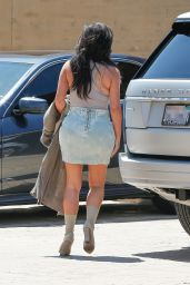 Kim Kardashian Summer Outfit Ideas - Out in Nobu, Malibu 6/19/2016