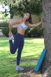 Kira Kosarin in Spandex - Heading to Yoga Class in North Hollywood 6/25/2016