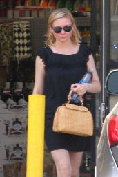 Kirsten Dunst Chic Outfit - Out in LA 6/3/2016