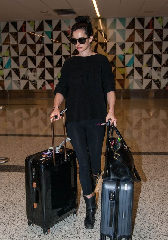 Krysten Ritter at LAX Airport in LA 6/8/2016