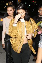 Kylie Jenner Night Out Style - Out in West Hollywood 6/12/2016