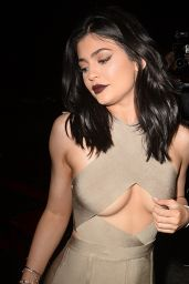Kylie Jenner Night Out Style - The Nice Guy in West Hollywood 6/2/2016