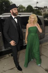 Kylie Minogue at One For The Boys Fashion Ball in London, June 2016