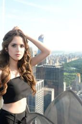 Laura Marano at The Rainbow Room in New York city 6/1/2016
