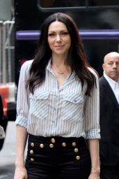 Laura Prepon Visits