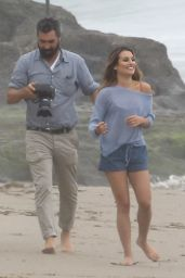 Lea Michele - Beach Photoshoot in Malibu 6/21/2016