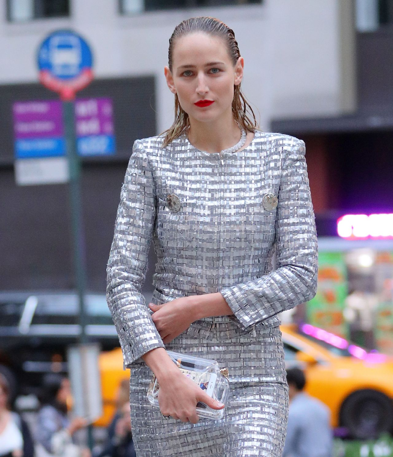 Leelee Sobieski - Chanel Fine Jewelry Dinner in New York ...