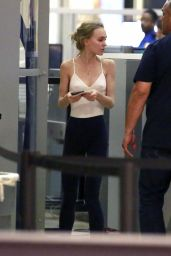 Lily Rose Depp at LAX Airport in Los Angeles 6/18/2016