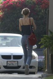 Lily-Rose Depp - Heads to a Dentist Office in Larchmont Village in Los Angeles 6/1/2016