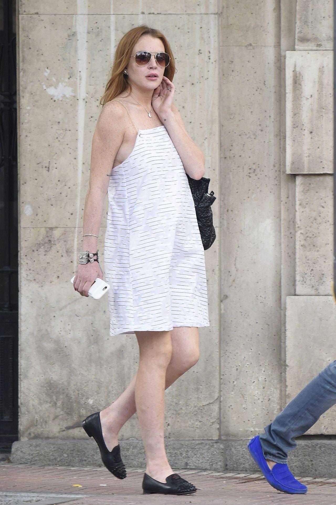 Lindsay Lohan Summer Outfit Ideas