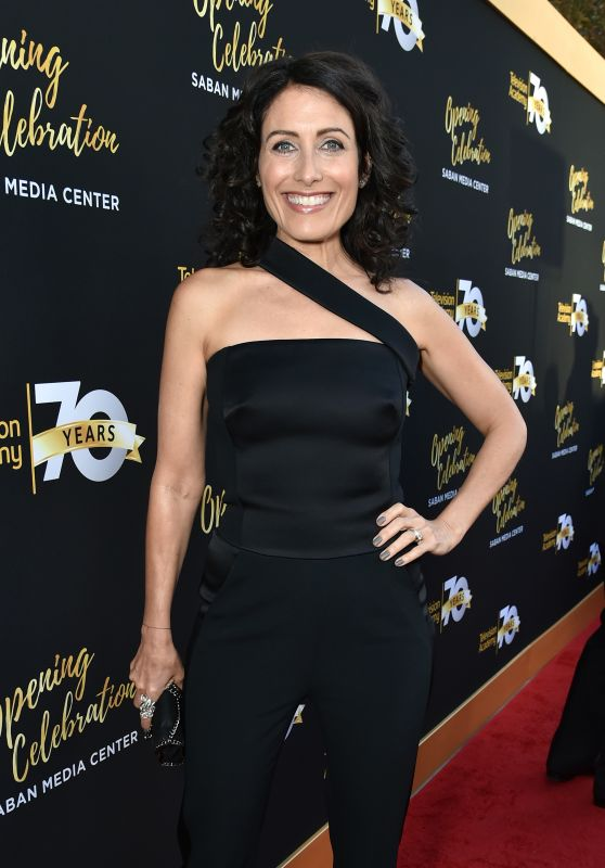 Lisa Edelstein – Television Academy 70th Anniversary Celebration in Los Angeles, 6/2/2016