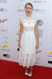 Lucy Fry - 2016 Australians in Film Heath Ledger Scholarship Dinner in Los Angeles 6/1/2016