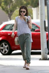 Lucy Hale Street Style - Out in LA 6/8/2016