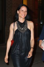 Lucy Liu - Leaving Her Hotel in New York City, June 2016