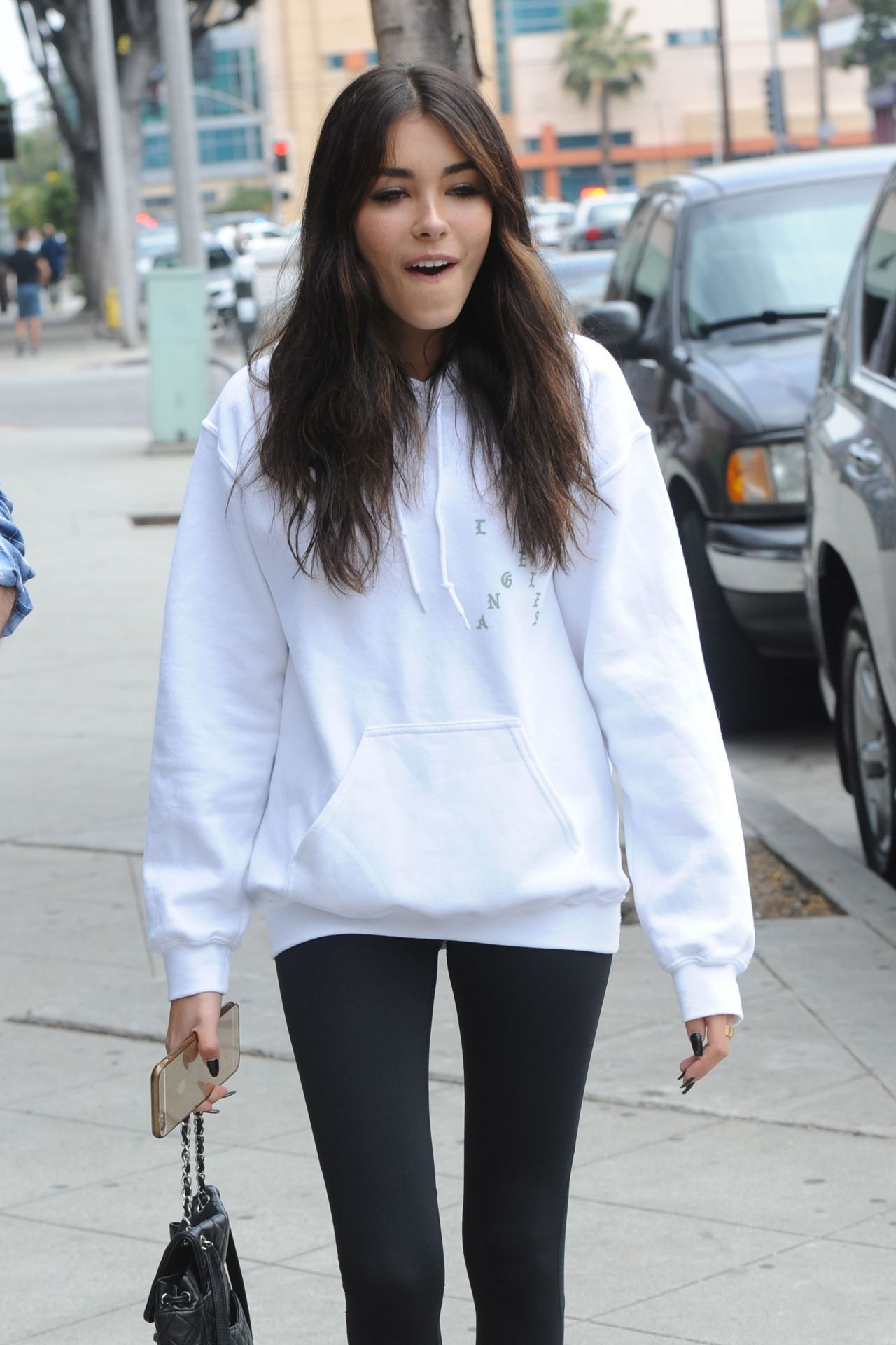 Madison Beer Cute Outfit - Out in Los Angeles 6/14/2016