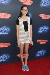 Madison Hu – 100th DCOM 'Adventures in Babysitting' Premiere in Los Angeles