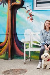 Maisie Williams - The Pet Collective Photoshoots 2016