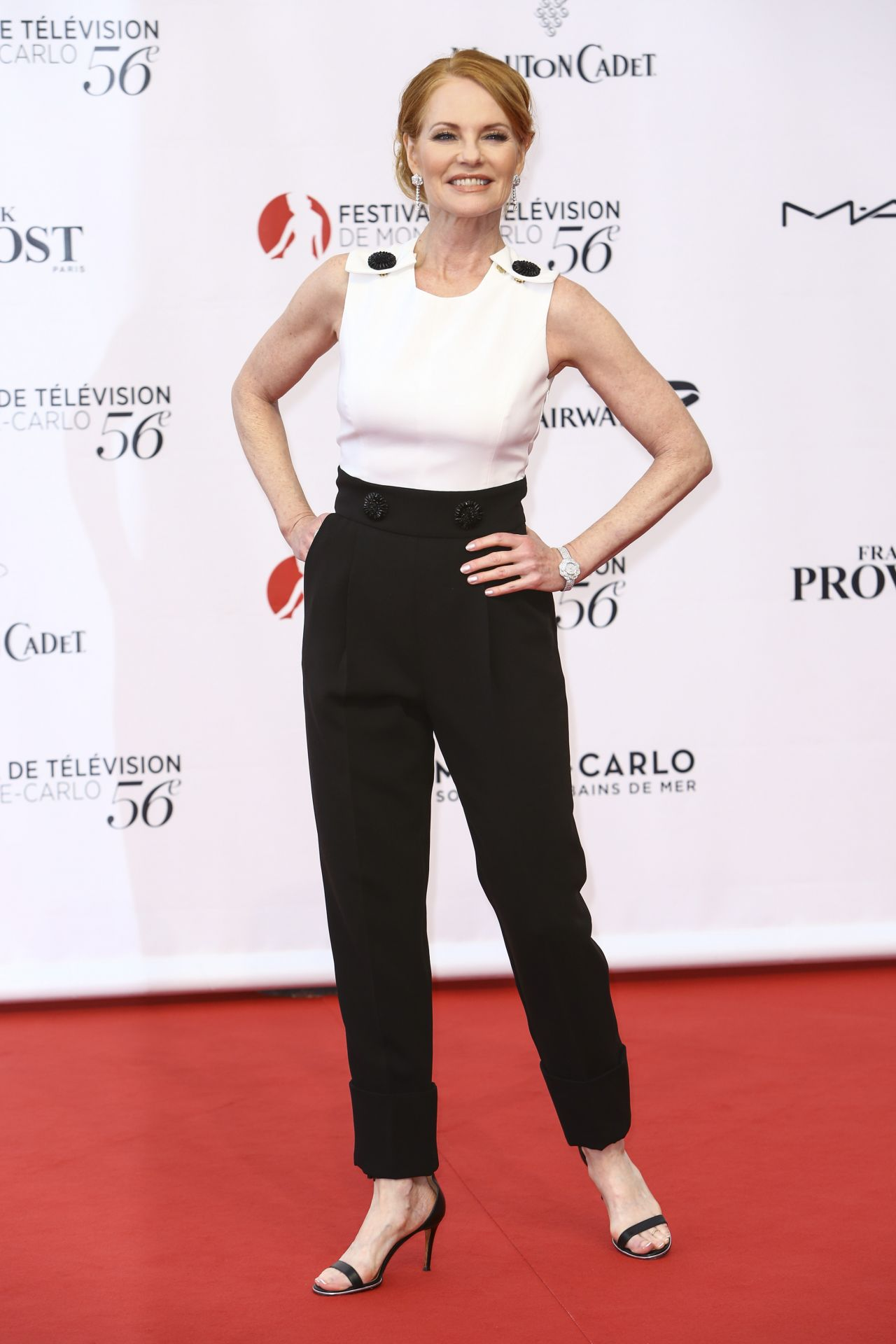 Marg Helgenberger Monte Carlo Television Festival 2016