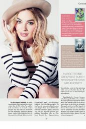 Margot Robbie - Look! Salzburg Magazine July/August 2016 Issue