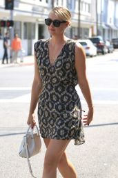 Maria Sharapova Shows Off Her Legs in Mini Dress - Out in Beverly Hills 6/21/2016