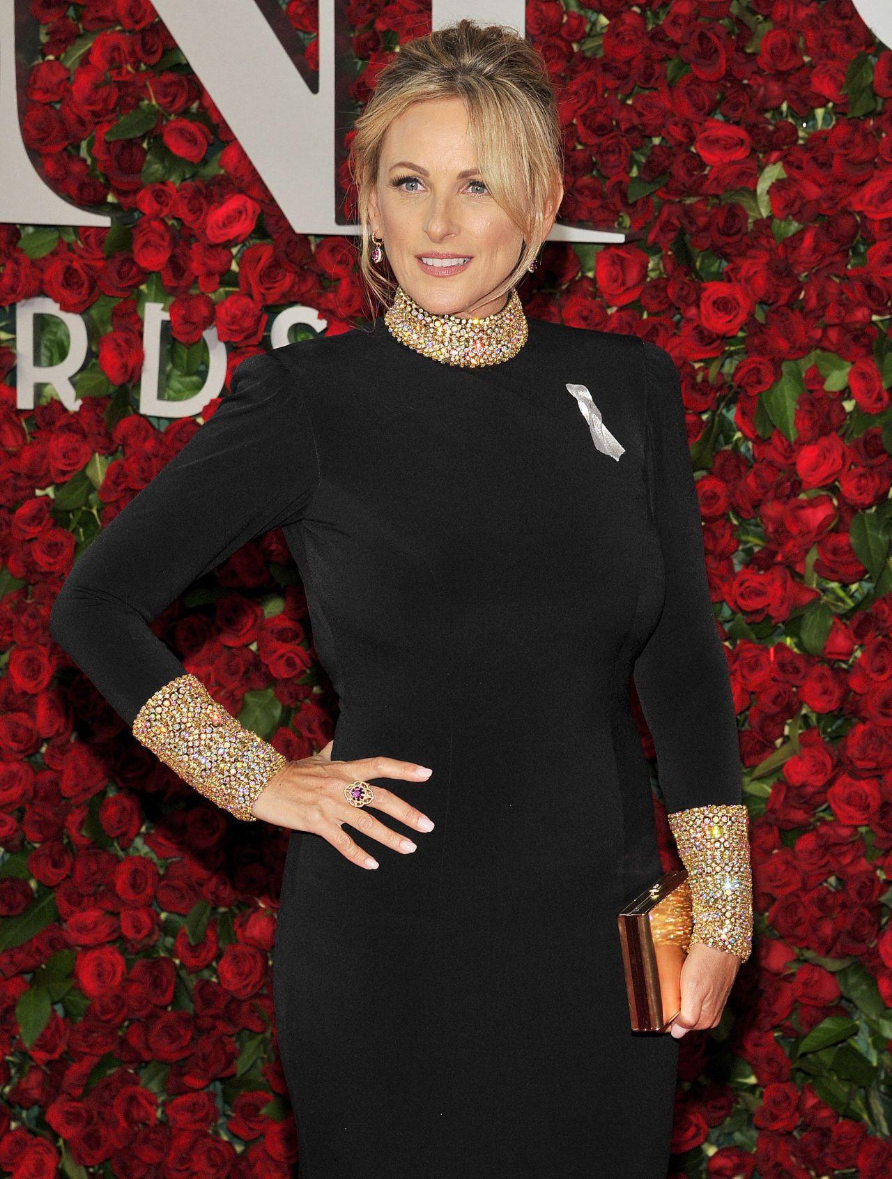 Marlee Matlin 2016 Tony Awards In New York