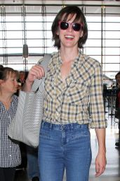Milla Jovovich - Departs From the LAX Airport in Los Angeles 6/17/2016